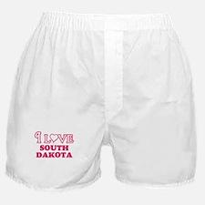 I love South Dakota Boxer Shorts