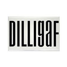 DILLIGAF Rectangle Magnet