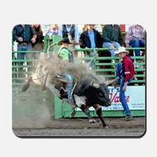 Bull Riding Mousepad