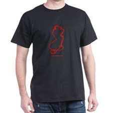 jdp_outline_red_w_url T-Shirt