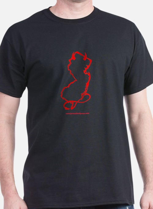 jdp_outline_red_w_url T-Shirt