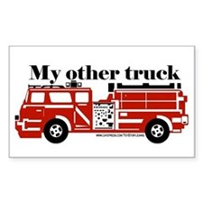 """My other truck"" Rectangle Decal"