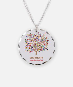 Tree of Autism Necklace