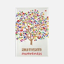 Tree of Autism Rectangle Magnet