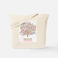 Tree of Autism Tote Bag