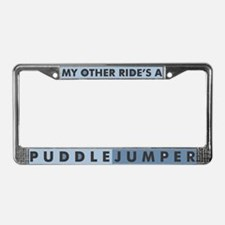 Puddlejumper Products License Plate Frame