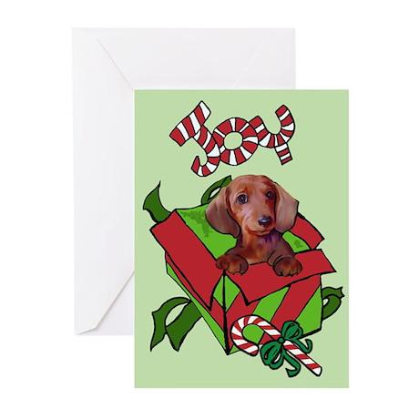 Christmas Dachshund Greeting Cards (Pk of 20)