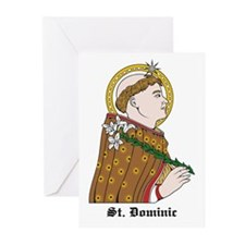 St. Dominic Greeting Cards (Pk of 10)