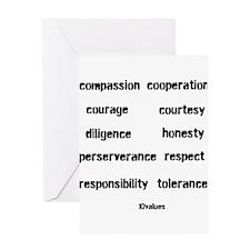 Unique Tolerance Greeting Card