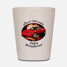 Tesla Roadster Shot Glass