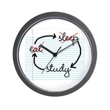 'Study, Study, Study' Wall Clock