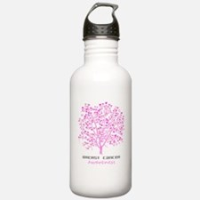 Breast Cancer Awareness Tree Water Bottle