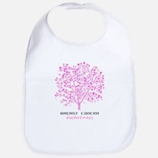 Breast Cancer Awareness Tree Bib