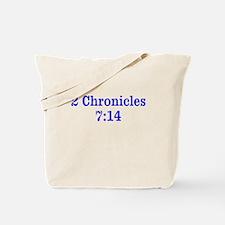 2 Chr 7:14 Cross HS Tote Bag