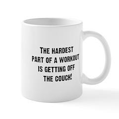 The Hardest Part of a Workout... Mug