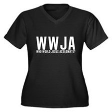 Who Would Jesus Assassinate? Women's Plus Size V-N