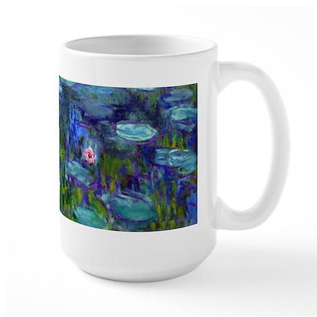 Monet - Water Lilies Large Mug