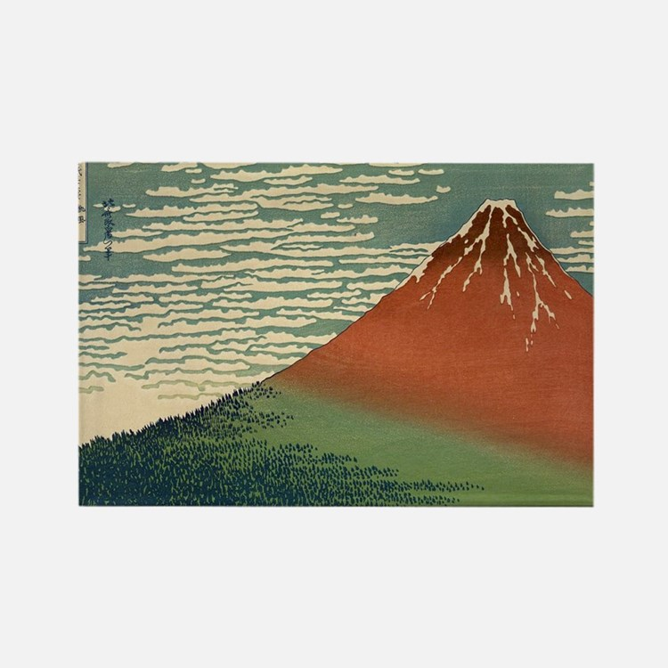 Mt. Fuji Rectangle Magnet