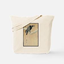Winter Crow Tote Bag