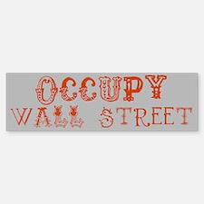 OWS - Occupy Wall Street bumper sticker