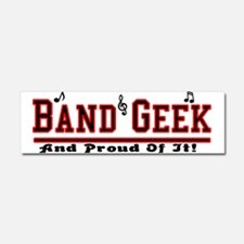Band Geek Car Magnet 10 x 3