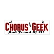 Chorus Geek Car Magnet 10 x 3