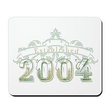 Established in 2004 Mousepad
