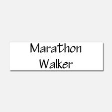 Cute 26.2 walker Car Magnet 10 x 3