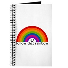 'Follow That Rainbow' Journal