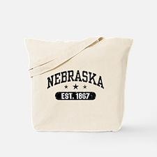Nebraska Est.1867 Tote Bag