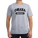 Omaha Nebraska Men's Fitted T-Shirt (dark)
