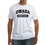 Omaha Nebraska Fitted T-Shirt