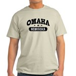 Omaha Nebraska Light T-Shirt