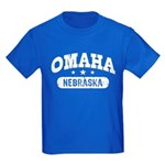 Omaha Nebraska Kids Dark T-Shirt