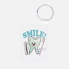 Dentist Dental Hygienist Teeth Keychains