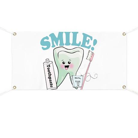 Dentist Dental Hygienist Teeth Banner