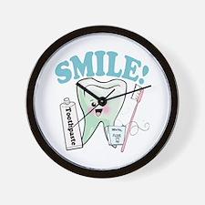 Dentist Dental Hygienist Teeth Wall Clock