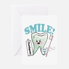 Dentist Dental Hygienist Teeth Greeting Card