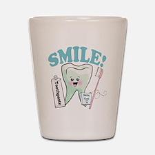 Dentist Dental Hygienist Teeth Shot Glass