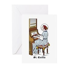 St. Cecilia Greeting Cards (Pk of 10)