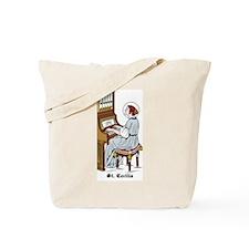 St. Cecilia Tote Bag