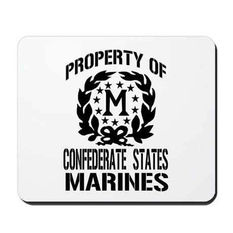 Property Of Confederate Marin Mousepad