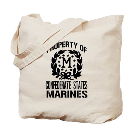 Property Of Confederate Marin Tote Bag