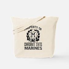 Property Of Confederate Marin Tote Bag