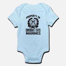 Property Of Confederate Marin Infant Bodysuit