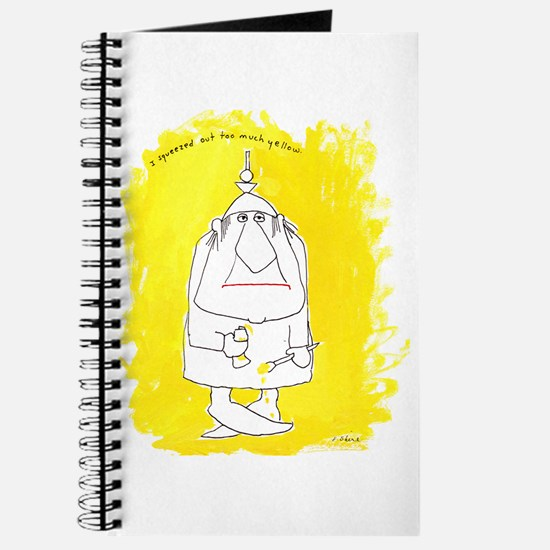 Too Much Yellow Journal