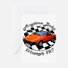 Triumph TR7 Greeting Cards (Pk of 20)