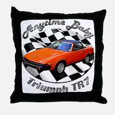Triumph TR7 Throw Pillow