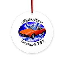 Triumph TR7 Ornament (Round)