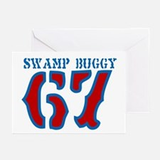 SWAMP BUGGY Greeting Cards (Pk of 10)
